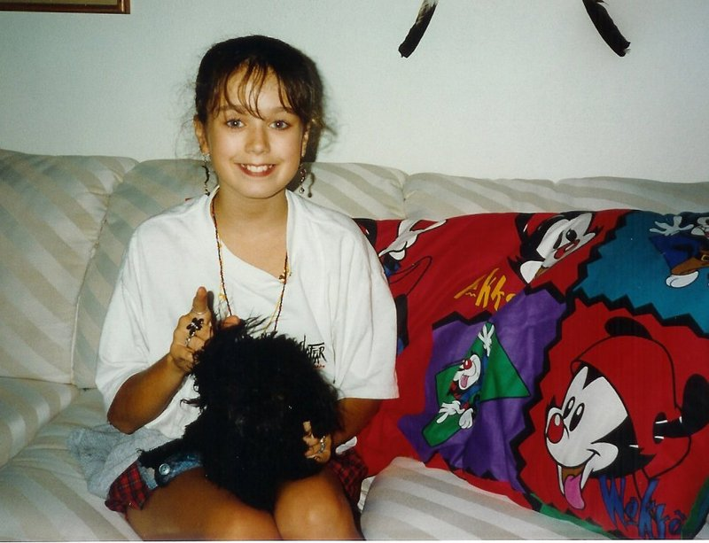 Charity and Tiffany (dog)