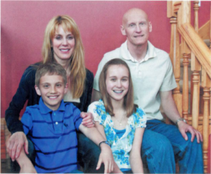 The Kubalaks, from left: Isaac, Judy, Summer, Gary. The family lost daughter Charity Mae in 1998.
