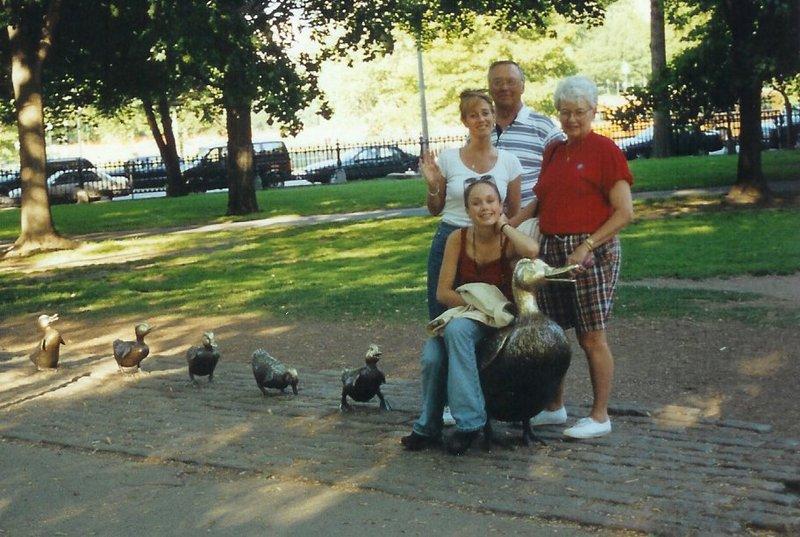 Boston ducks