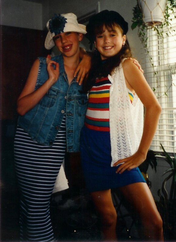 Charity and Steph '94