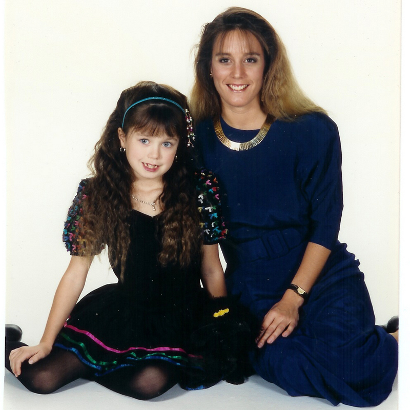 Charity and mom '89