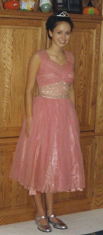 Dressed as princess