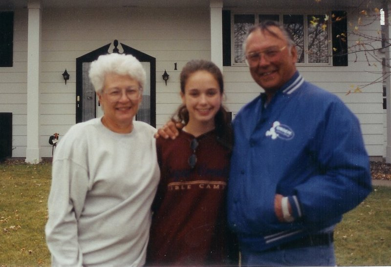 With Grandma and Papa Eau Claire