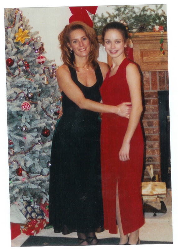 With Judy at Christmas