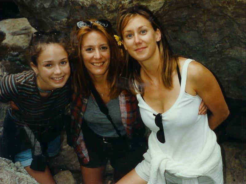with Mom and Lisa '97